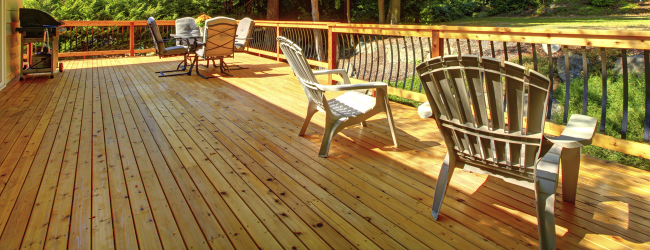Decking Finishes